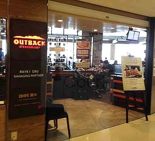 Outback steakhouse 香港的西餐廳扒房 ifoodcourt