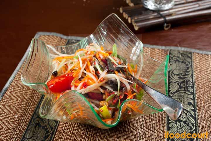 泰式木瓜沙律