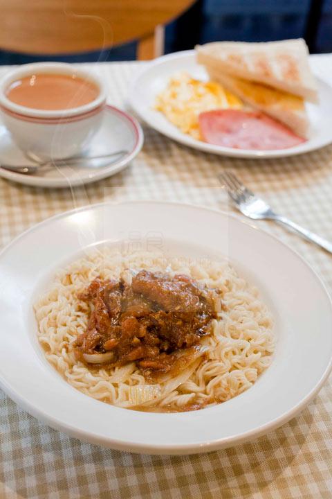 三餐常餐 - 沙爹牛肉麵