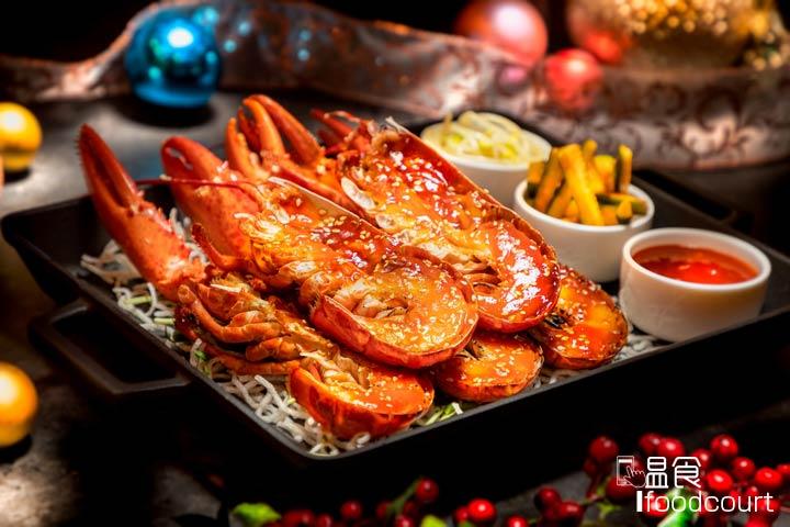 韓式甜辣醬燒龍蝦