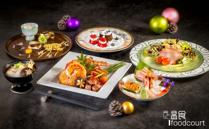 聖誕六道菜日式晚市套餐